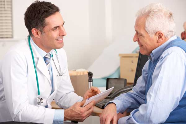 Getting the good news from a prostate cancer test