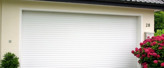 a secure garage door